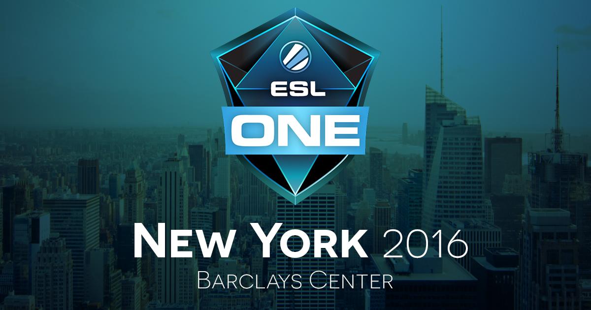 ESL ONE New York