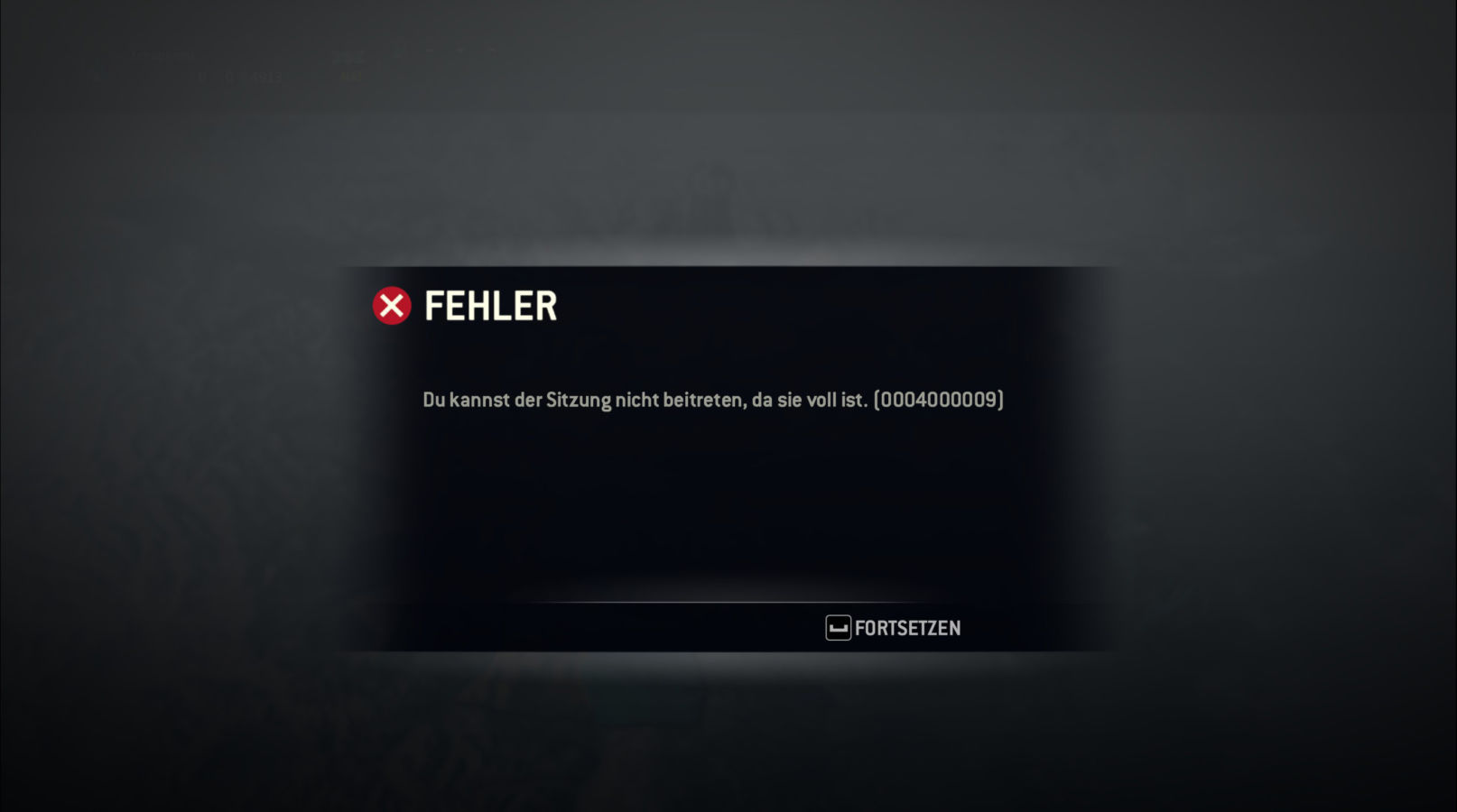 ForHonor-Error