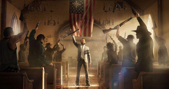 Der fanatische Anführer einer Weltuntergangssekte ist der Bösewicht in Far Cry 5. (Quelle: Ubisoft)