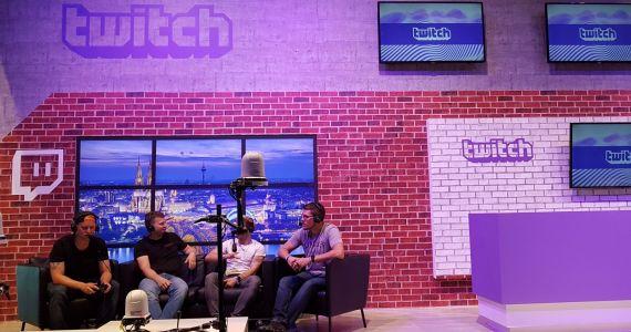 Die Twitchbühne auf der Gamescom 2017