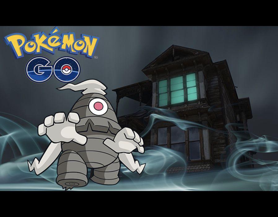 Pokémon Geist Dusclops (3. Gen). Quelle: Getty