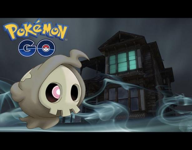 Pokémon Geist Duskull (3. Gen). Quelle: Getty