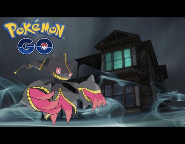 Pokémon Geist Banette (3. Gen). Quelle: Getty
