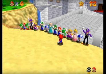 Super Mario 64 Online Romhacks
