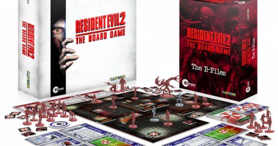 Nach einer Stunde erreichte das Resident Evil 2 Brettspiel sein Ziel. (Quelle: Kickstarter)