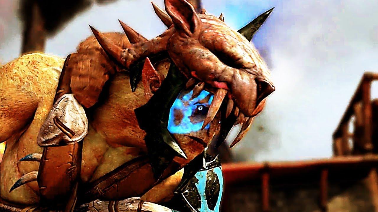Der Orc Tales Trailer stellt verschiedene Möglichkeiten vor, Orks als verbündete zu gewinnen. (Quelle: Warner Brothers Interactive)