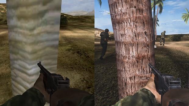 Hobby-Entwickler ScureHD arbeitet gerade an einem überarbeiteten HD Remake des Shooter-Klassikers Battlefield 1942. Dies sind erste Vergleiche. (moddb.com)
