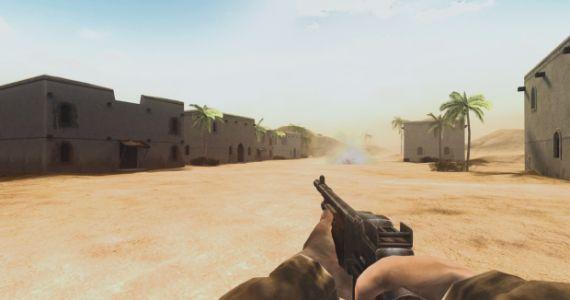 Hobby-Entwickler ScureHD nahm sich zuerst die Wüstenkarten vor. Weitere folgen. (Quelle: moddb.com)