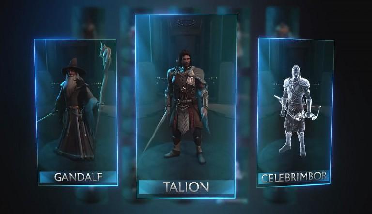 Sucht euch euren Helden und verbündet euch mit anderen Spielern gegen Sauron - von unterwegs, mit dem Smartphone! (Quelle: PC Games)