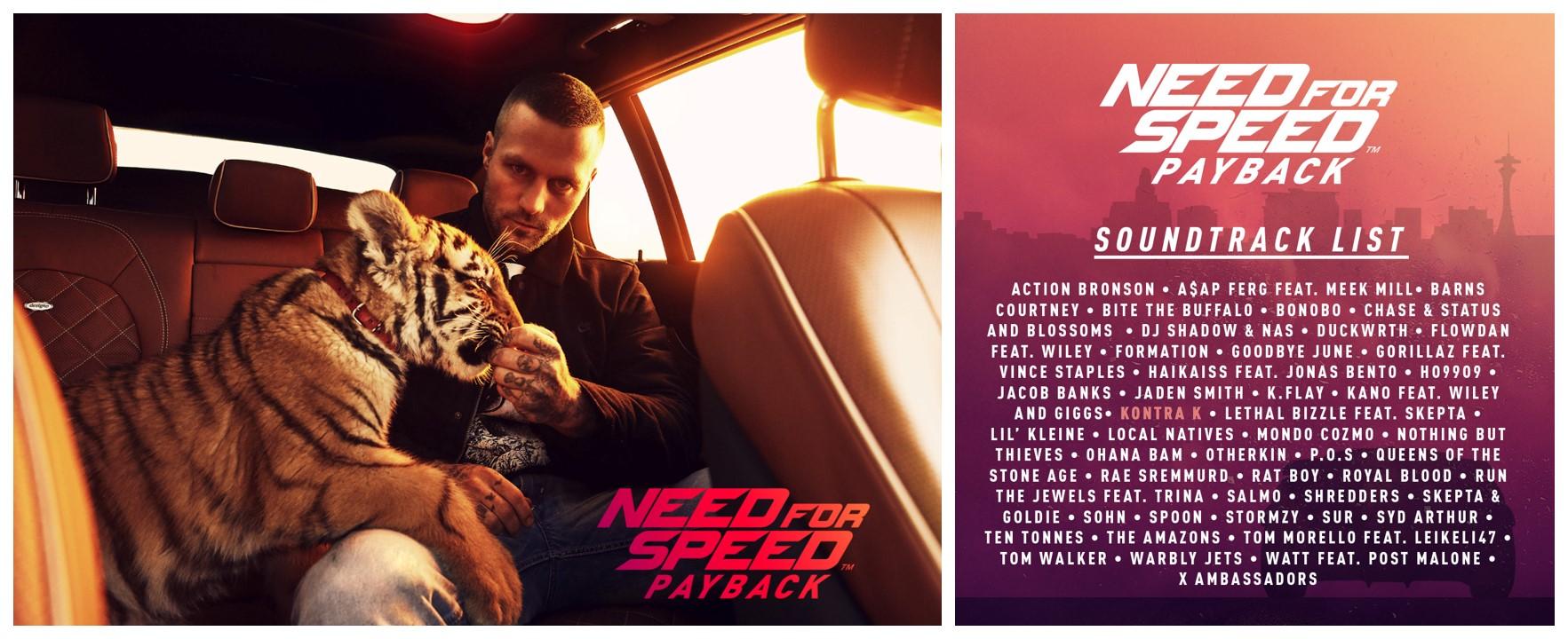EA veröffentlicht den offiziellen zu Need für Speed Payback Soundtrack. (Quelle: EA)