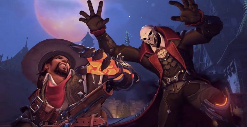 McCree als Van Helsing und Reaper als Dracula. Diese zwei neuen Skins haben die Entwickler im Laufe des Tages für das Halloween Terror-Event bestätigt. (Quelle: mein-mmo.de)