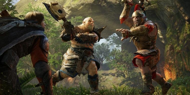 Jeder Moment ohne Kampf ist ein verschwendeter Moment für die Orks vom Kriegstreiber Stamm. (Quelle: PC Games)