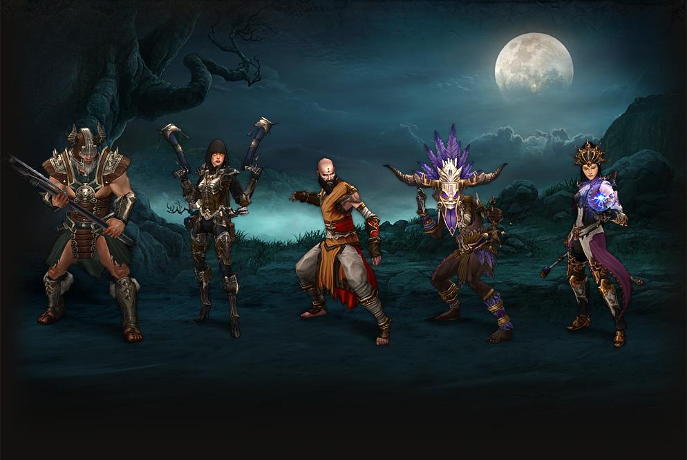 Ob das neue Diablo (4) Projekt ein MMORPG im Stil von World of Warcraft wird bleibt reine Spekulation. Sicher ist, der neue Patch für Diablo 3 bringt einige Neuerungen. (Quelle: eu.battle.net)