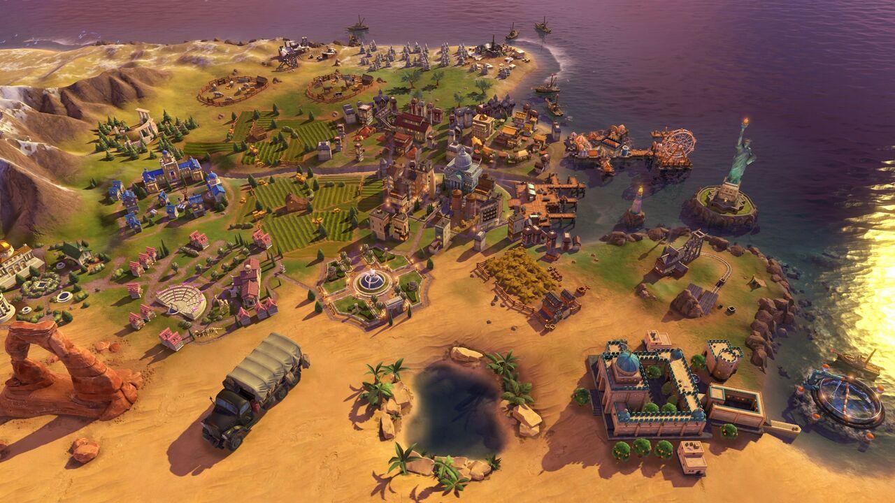 """Rebellionen können dazu führen, dass sich Städte von euch abwenden. Diese """"Freien Städte"""" können dann leicht von anderen Spielern erobert werden. (Quelle: 2K)"""