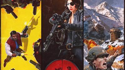 Schlüpft in die Rollen von Revolverheld Joe, der ehemaligen Agentin Jessica oder Army-Captain Gerald und sabotiert das Regime. (Quelle: IGN)
