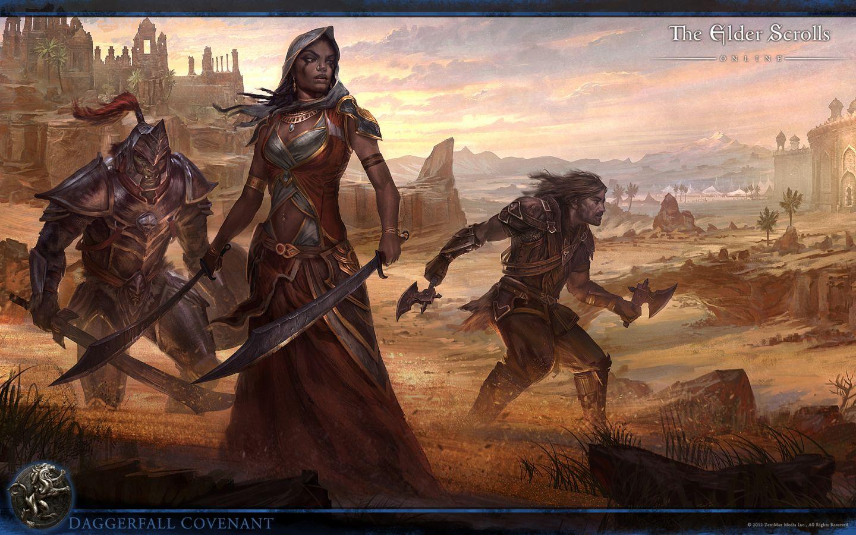Die kostenlose Probewoche ermöglicht es Neugierigen in die Welt von Tamriel einzutauchen und zu einer ganz eigenen Story zu werden. (Quelle: The Elder Scrolls Online)