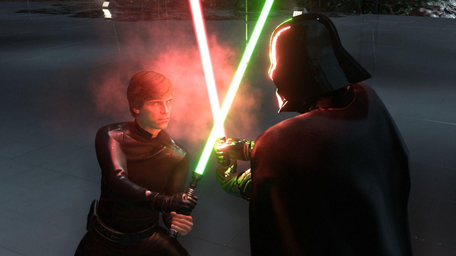 Um Helden wie Luke Skywalker oder Darth Vader schneller freizuschalten kann ein Spieler Echtgeld bezahlen. (Quelle: EA)