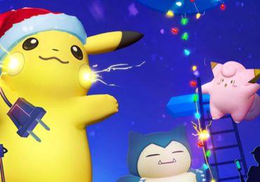 Beim Weihnachtsevent von Pokémon Go warten Pokémon aus den Videospielen Rubin und Saphir auf auch. (Quelle: Bild)
