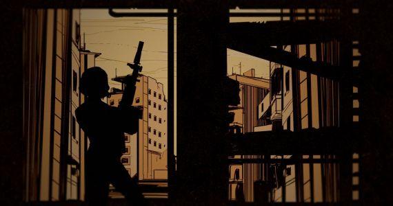 Stiller Tod heißt die bezaubernde Agentin aus dem zweiten DLC von Wolfenstein 2: The New Colossus. Und sie kann eines ganz besonders gut: Sie tötet leise. (Quelle: Bethesda)