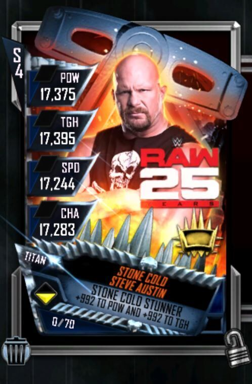 Mach deine Karten heroisch. Mit dem neuesten Update bei WWE SuperCard ist dies nun möglich. (Quelle: 2K)