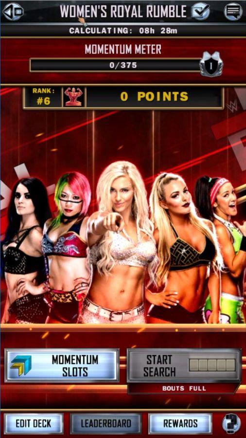 Spiele mit Women's Royal Rumble, die weibliche Version des originalen Spielmodus. (Quelle: 2K)