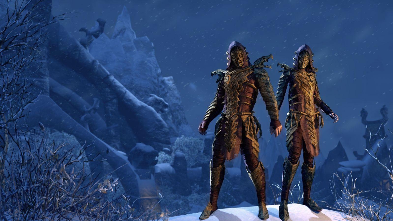 Die Drachenpriester sind nordische Magier, die die Drachen verehren. Tausende Jahre später, begegnen sie euch als Untote in der Nähe von Wortwänden, um diese schützen. (Quelle: The Elder Scrolls Online)