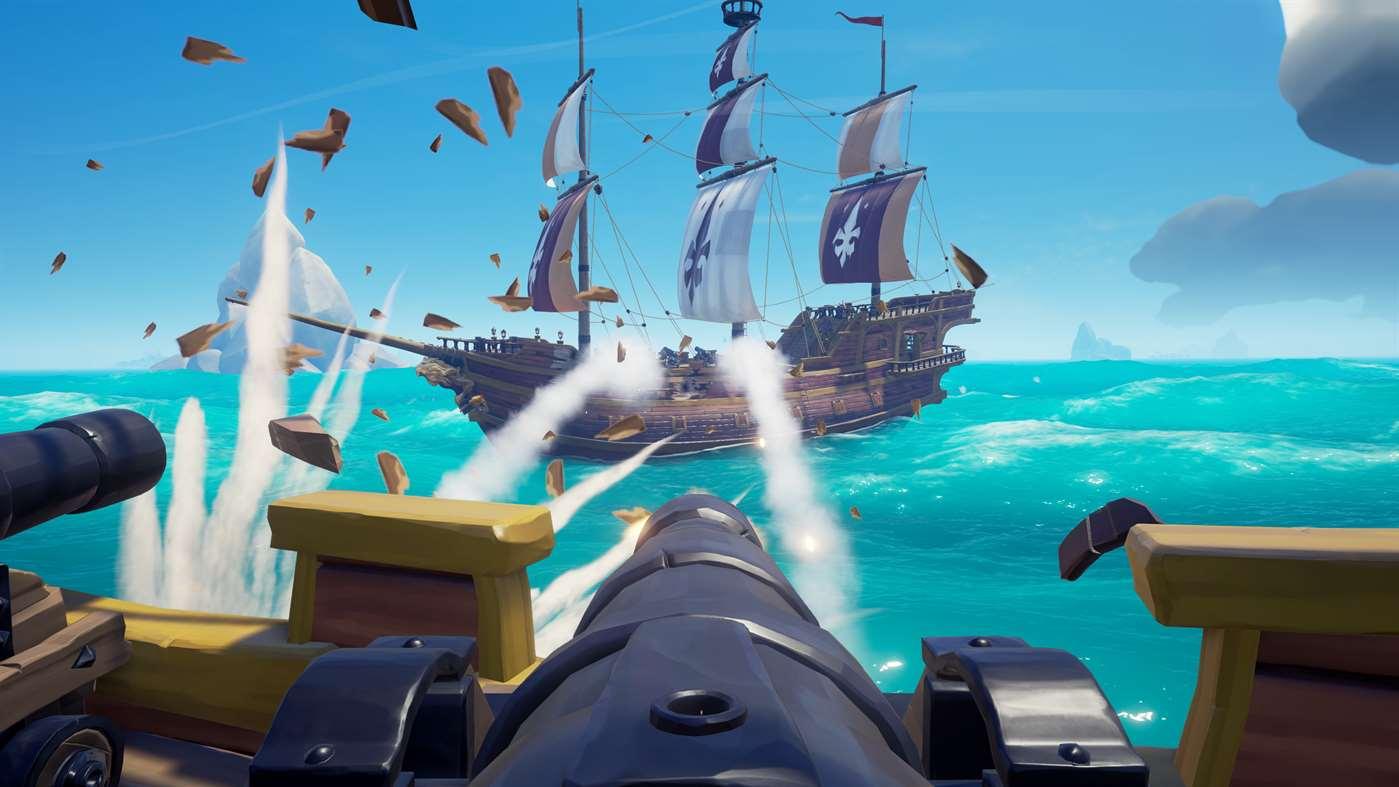 Nur durch perfektes Timing und viel Geschick könnt ihr gegnerische Schiffe auf den Grund des Meeres schicken. (Quelle: Microsoft.com)