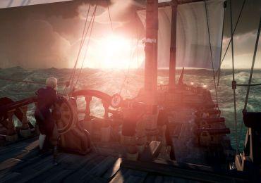 Lasst eure Sorgen hinter euch. Hisst die Segel, lichtet den Anker und begebt euch mit einer Mannschaft an unerschrockenen Piraten auf Schatzsuche, ihr Landratten. (Quelle: Microsoft.com)