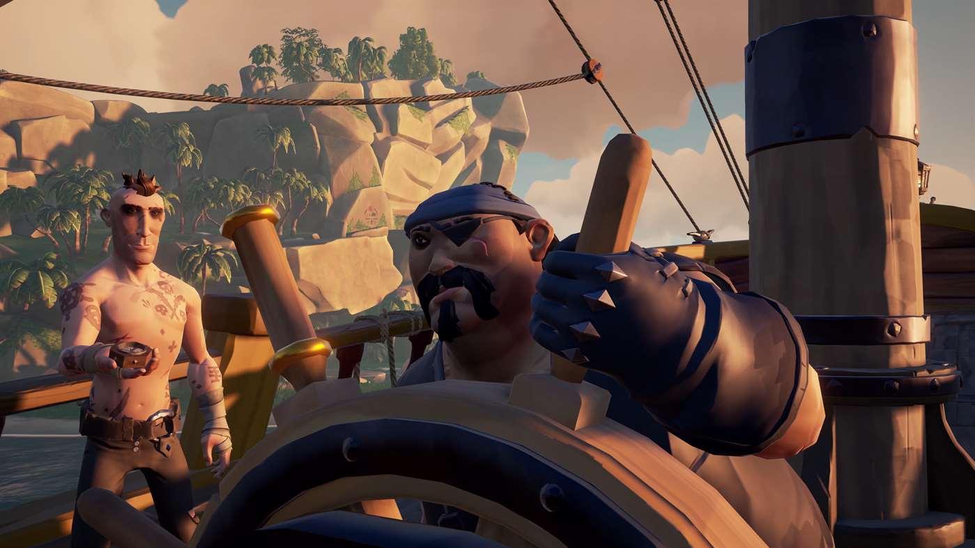 In Sea of Thieves hat jeder seinen Platz. Nur durch Teamarbeit habt ihr eine Chance auf der rauen See zu Überleben. (Quelle: Microsoft.com)