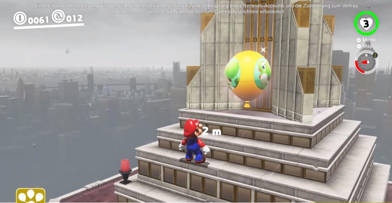 """Im neuen Modus """"Ballonjagd"""", versteckt ihr nicht nur euren eigenen Ballon, sonder müsst auch so viele Ballons anderer Spieler finden und zum platzen bringen, wie nur möglich. (Quelle: Nintendo Direct, Youtube)"""