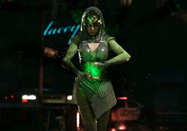 Warner Bros. Interactive Entertainment und DC Entertainment veröffentlichte heute einen neuen Gameplay Trailer zu Injustice 2. Darin ist Enchantress zu sehen. (Quelle: gamewatcher.com)