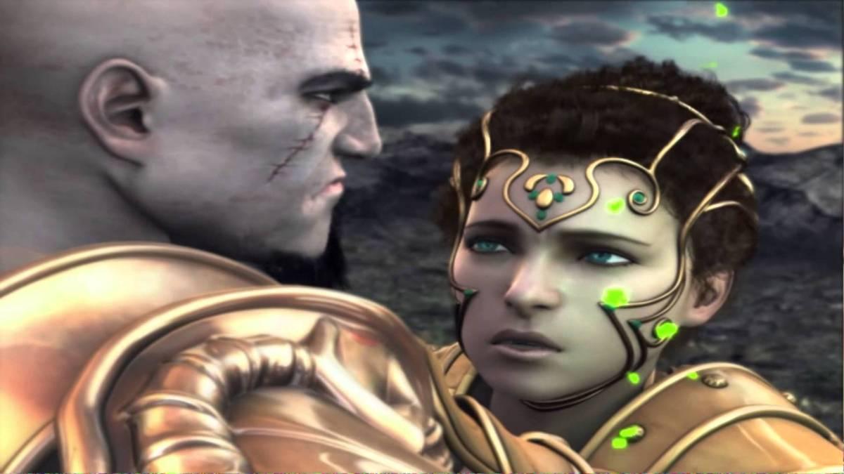 Athene, die Göttin der Weisheit, kann dem blutrünstigen morden des Kratos nicht länger zu sehen und bestraft ihn. (Quelle: GamingNewsTime)