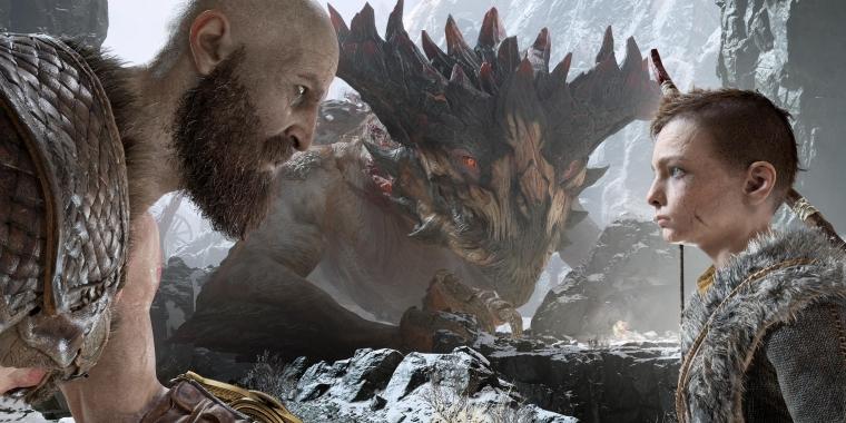 Kratos, mittlerweile zum Olymp berufen, reist mit seinem Sohn Atreus durch die Welt, um aufzuräumen. Dabei stellen sich auch einem Gott die Probleme des Eltern seins. (Quelle: PC Games Hardware)