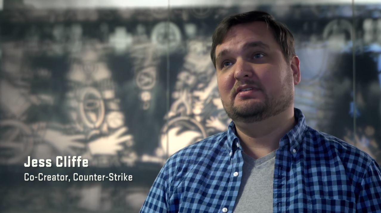 Jess Cliff ist Co-Designer von Counter Strike. Am Donnerstag morgen wurde er in Seattle verhaftet. (Quelle: Valve)