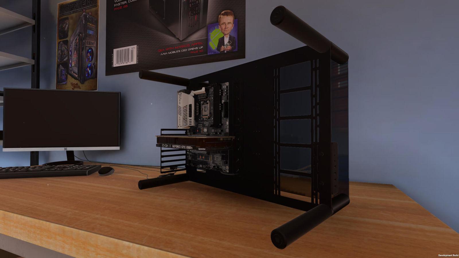 Egal, ob Case-Modder oder Casual Gamer. Mit dem PC Building Simulator hast du das perfekte Game, um deinen PC von allen Seiten zu betrachten. (The Irregular Corporation )