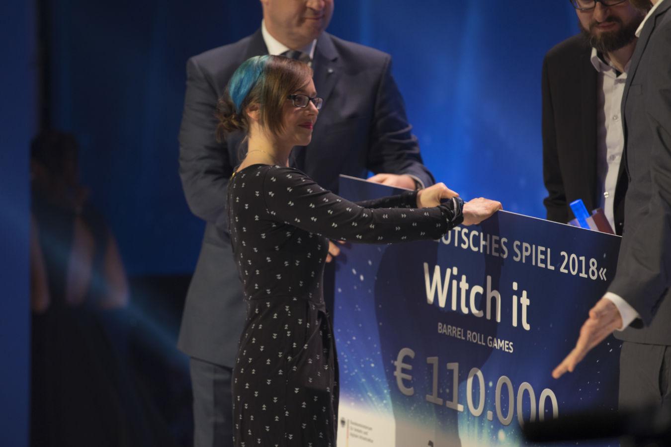 Dreimal gewannen die Entwickler von Witch it in diesem Jahr. Darunter auch den Titel des Bestes deutschen Spiels 2018.