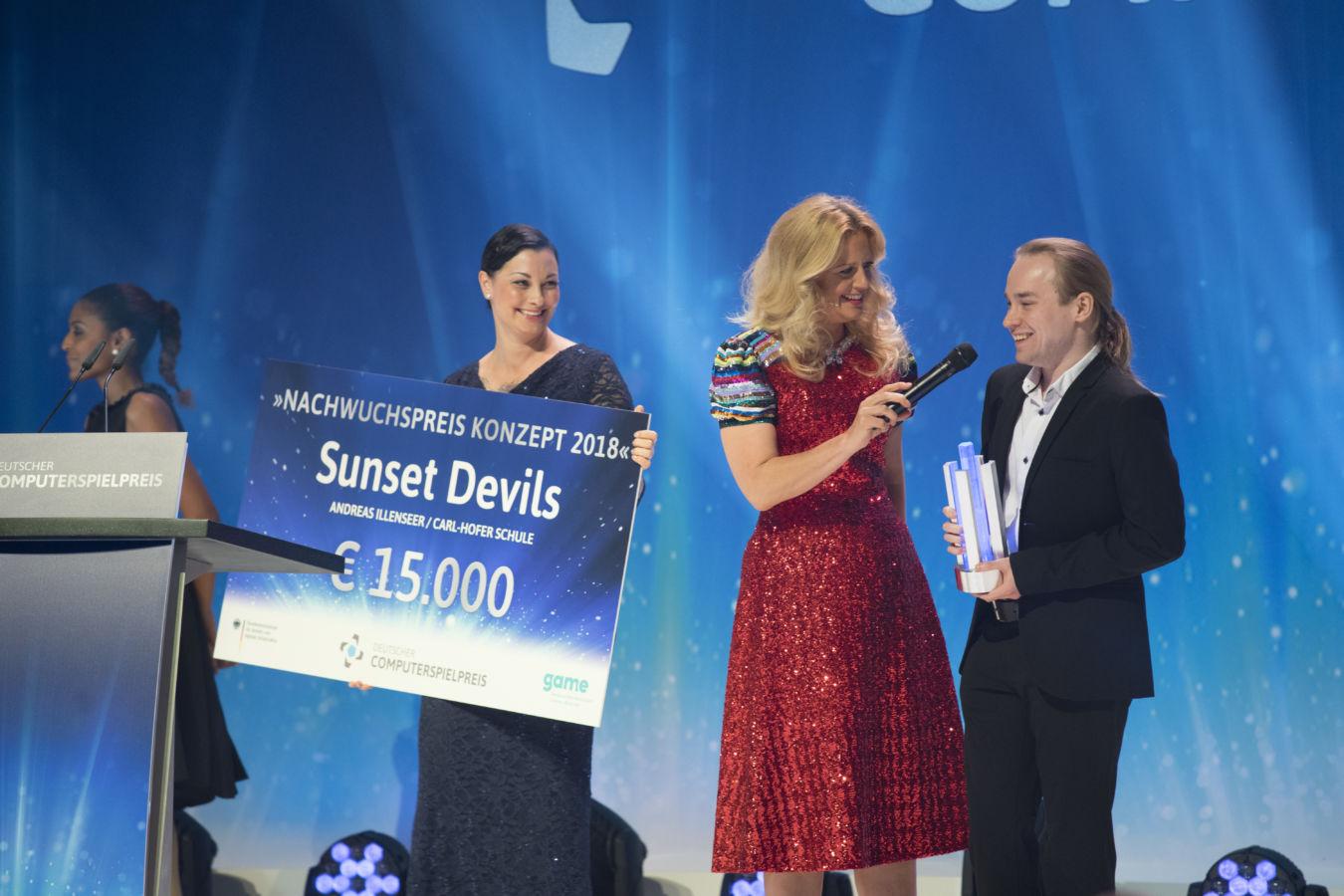 """Der Preis für das Beste Konzept ging an Andreas Illenseer für seine """"Sunset Devils""""."""