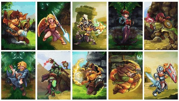 Bis zu fünf Charaktere könnt ihr im rundenbasierten Kampf in den Ring schicken. (Quelle: Skidrow Games Reloaded)