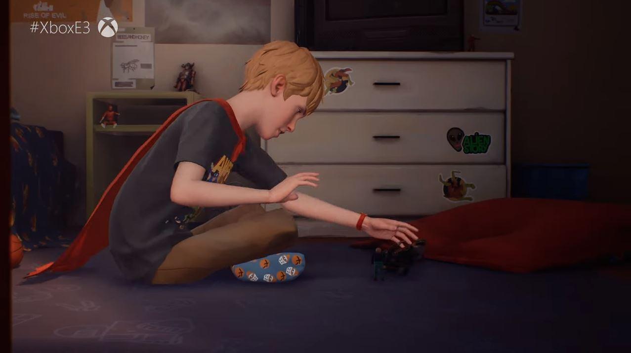 Von den Machern von Life ist Strange taucht der Spieler in die traurige Welt eines kleines Jungen. (Quelle: E3 Briefing Microsoft)