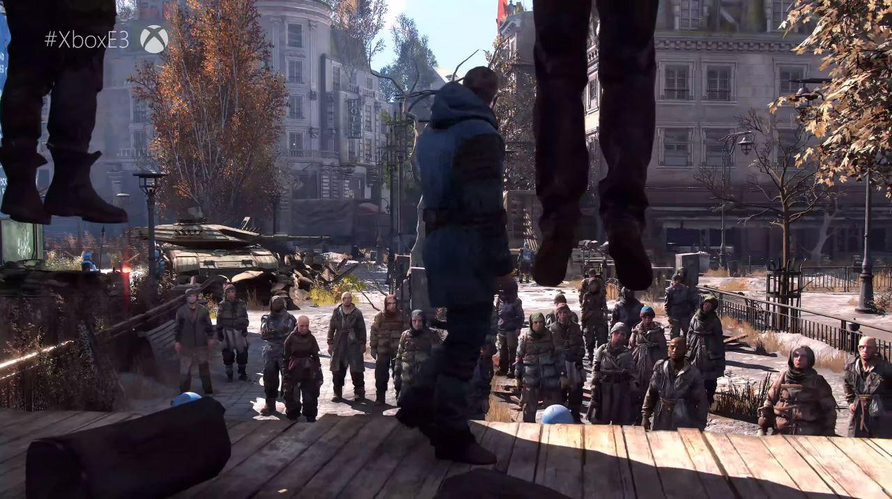 In Dying Light 2 hat jede Entscheidung ernste Konsequenzen auf den weiteren Spielverlauf. (Quelle: E3 Briefing Microsoft)