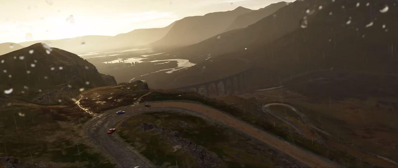 Forza Horizon 4 bietet unter anderem auch einen ständigen Jahreszeiten-Wechsel. (Quelle: E3 Briefing Microsoft)