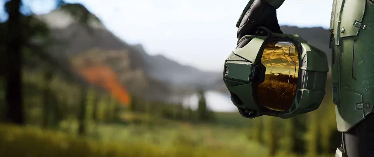 Microsoft kündigt auf der E3 2018 Halo Infinite an. Der Titel soll den Abschluss der Trilogie dar stellen. (Quelle: E3 Briefing Microsoft)