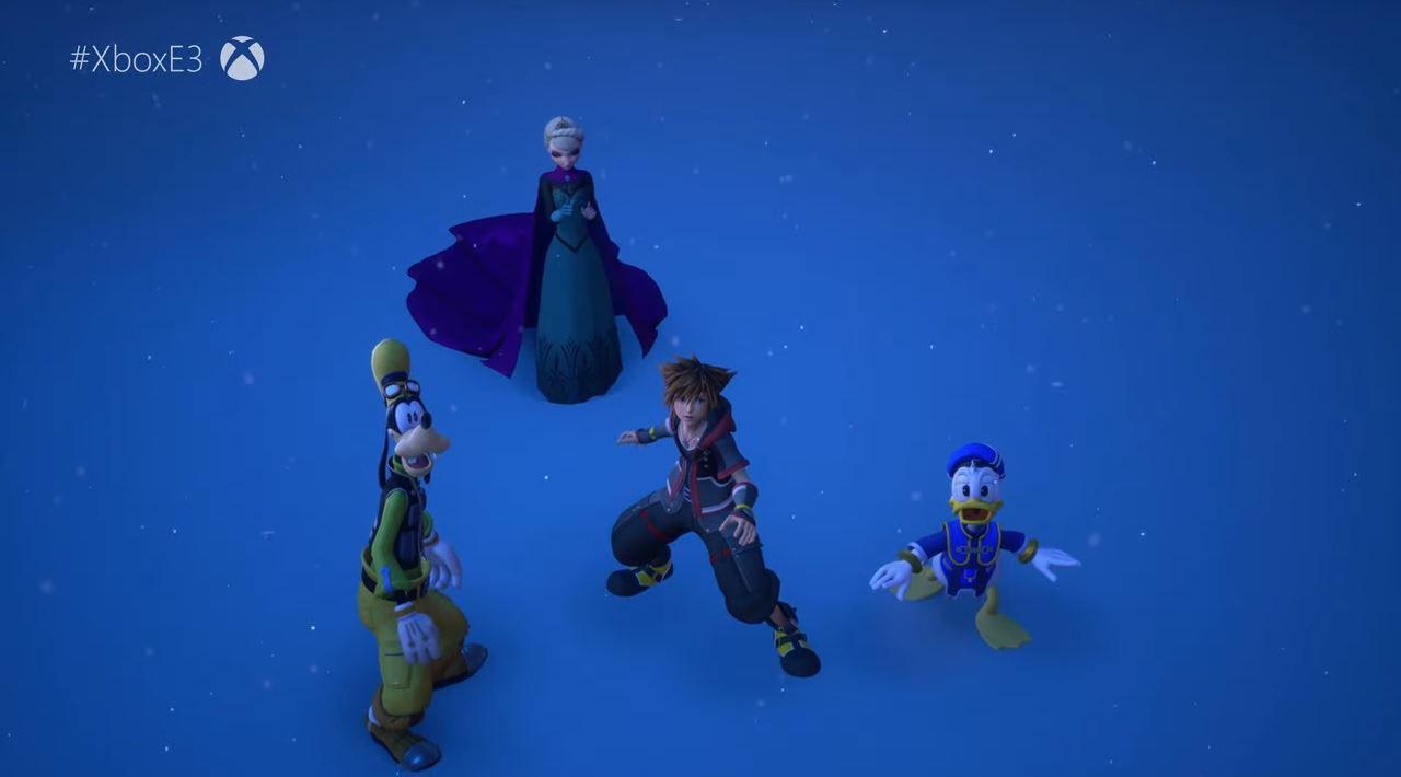 Erstmalig ist Kingdom Hearts auch für die Xbox verfügbar. (Quelle: E3 Briefing Microsoft)